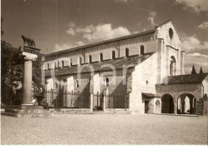 1955 ca AQUILEIA (UD) Basilica di POPPO con Lupa di Roma *Cartolina FG NV