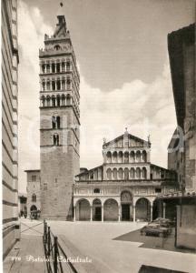 1955 ca PISTOIA Panorama della Cattedrale *Cartolina FG NV