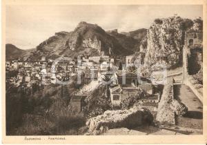1950 ca TAORMINA (ME) Scorcio panoramico *Cartolina FG NV