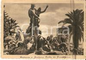 1939 CATANIA Fontana del Ratto di Proserpina *Cartolina FG NV