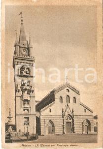 1940 ca MESSINA Il Duomo con l'orologio storico *Cartolina FG NV