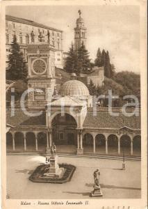 1941 UDINE Panorama di Piazza Vittorio Emanuele II *Cartolina FG VG