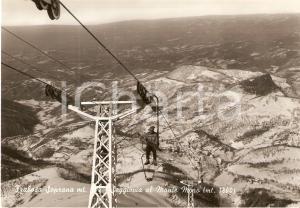 1955 ca FRABOSA SOPRANA (CN) Seggiovia al MONTE MORO *Cartolina FG NV