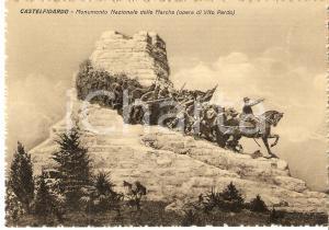 1950 ca CASTELFIDARDO Monumento Nazionale delle Marche di Vito PARDO *Cartolina