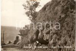 1963 LATRONICO (PZ) Grotte presso i bagni termo minerali *Cartolina FG NV