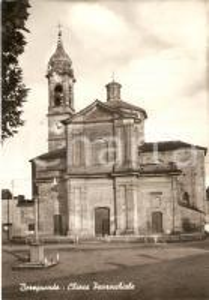 1965 BEREGUARDO (PV) Chiesa parrocchiale *Cartolina FG VG