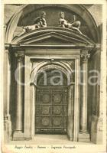 1941 REGGIO EMILIA Ingresso principale del Duomo *Cartolina FG VG