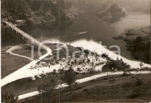 1960 LAGO DI VERZEGNIS (UD) Ponte canale e chiosco Fior *Cartolina FG VG