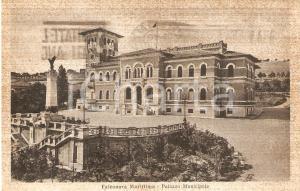 1939 FALCONARA MARITTIMA (AN) Palazzo Municipale *Cartolina FP VG