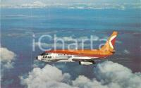 1970 ca CP AIR Canadian Pacific Air BOEING 737 in volo *Cartolina FP NV