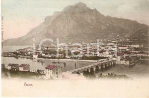 1905 ca LECCO Panorama della città *Cartolina FP VG