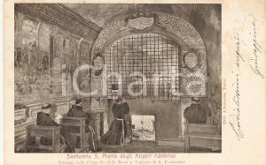 1903 ASSISI Santuario SANTA MARIA DEGLI ANGELI Frati in preghiera *Cartolina FP