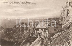 1952 DOLOMITI Rifugio Verona - Aleardo FRONZA ALLE CORONELLE *Cartolina FP VG