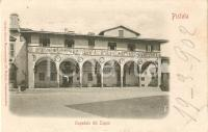 1902 PISTOIA Ospedale del Ceppo *Cartolina FP VG