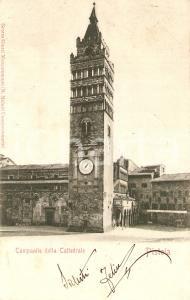 1901 PISTOIA Campanile della Cattedrale *Cartolina FP VG