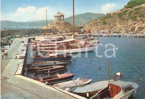 1961 ALASSIO (SV) La Cappelletta vista dal porto *Cartolina FG VG