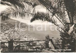 1956 ALASSIO (SV) Scorcio panoramico da Ponente *Cartolina FG VG