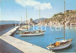 1961 ALASSIO (SV) Porticciuolo e cappelletta - Panorama *Cartolina FG VG