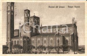 1940 BASSANO DEL GRAPPA Tempio ossario - Timbro Albergo CAPPELLARI *Cartolina FP