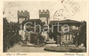 1928 BAGNI DI MONTECATINI (PT) Stabilimento Tamerici *Cartolina FP VG