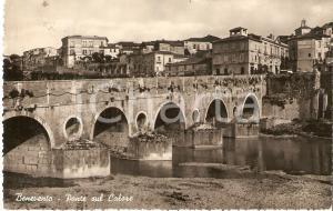 1949 BENEVENTO Ponte sul Fiume CALORE *Cartolina FP VG