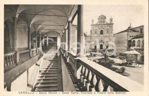 1930 ca SACRO MONTE DI VARALLO Scala Santa e Piazza della Basilica *Cartolina FP