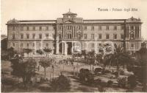 1935 ca TARANTO Palazzo degli Uffici *Cartolina FP NV