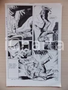 1972 L'AUTRE Ep. 5 Luciano BERNASCONI Alieno salva suicida *Tavola originale