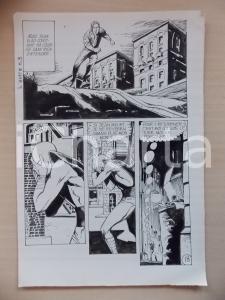 1972 L'AUTRE Ep. 5 Luciano BERNASCONI Alieno disperato *Tavola originale