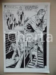 1972 L'AUTRE Ep. 5 Luciano BERNASCONI Uomo in fuga sulle scale *Tavola originale