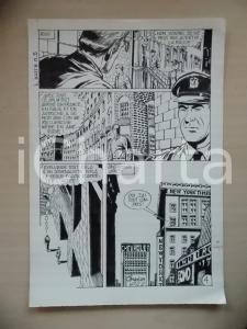 1972 L'AUTRE Ep. 5 Luciano BERNASCONI Sede del NEW YORK TIMES *Tavola originale