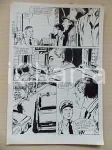 1972 L'AUTRE Ep5 Luciano BERNASCONI Alieno nascosto nella folla Tavola originale