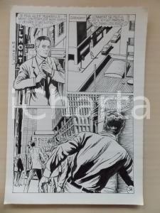 1972 L'AUTRE Ep. 5 Luciano BERNASCONI Manager alieno in città *Tavola originale