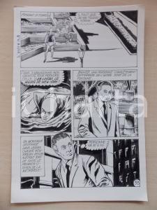 1972 L'AUTRE Ep. 5 Luciano BERNASCONI Alieni a NEW YORK *Tavola originale