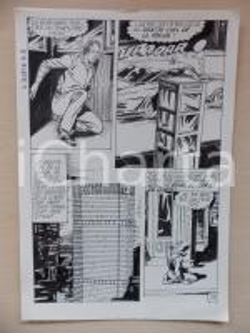 1972 L'AUTRE Ep. 5 Luciano BERNASCONI Grattacielo PAN AM *Tavola originale