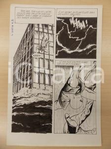1972 L'AUTRE Ep. 5 Luciano BERNASCONI Alieno cade da palazzo *Tavola originale