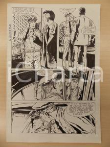 1972 L'AUTRE Ep. 5 Luciano BERNASCONI Poliziotti di vedetta *Tavola originale