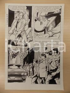 1972 L'AUTRE Ep. 5 Luciano BERNASCONI Lotta tra alieno e uomo *Tavola originale