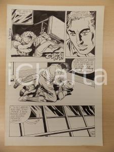 1972 L'AUTRE Ep. 5 Luciano BERNASCONI Combattimento con alieno *Tavola originale