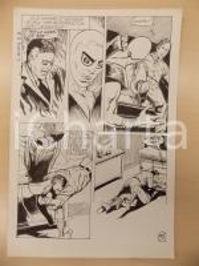 1972 L'AUTRE Ep. 5 Luciano BERNASCONI Scontro tra alieno e uomo Tavola originale