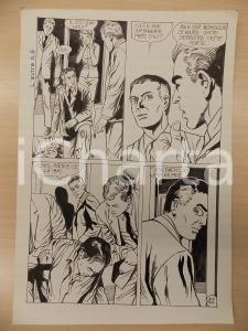 1972 L'AUTRE Ep. 5 Luciano BERNASCONI Alieno tra gli umani *Tavola originale