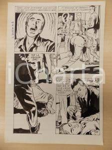 1972 L'AUTRE Ep. 5 Luciano BERNASCONI Alieno provoca vertigini *Tavola originale