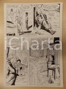 1981 AMI BARRY Ep.4 Luciano BERNASCONI Vipera e uomo legato *Tavola originale
