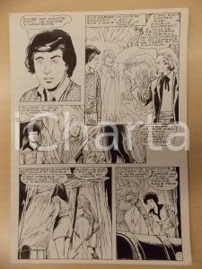 1981 AMI BARRY Ep.4 Luciano BERNASCONI Visita alla miniera *Tavola originale