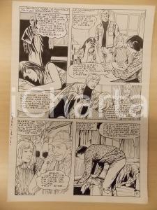 1981 AMI BARRY Ep.4 Luciano BERNASCONI Spettro SHERLOCK HOLMES *Tavola originale