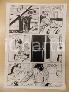 1981 AMI BARRY Ep.4 Luciano BERNASCONI Notte nella roulotte *Tavola originale