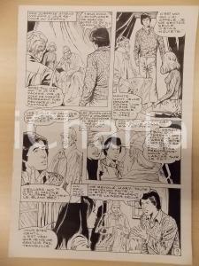 1981 AMI BARRY Ep.4 Luciano BERNASCONI Sherlock HOLMES Fantasma Tavola originale