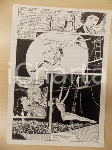 1981 AMI BARRY Ep.4 Luciano BERNASCONI Trapezisti al circo *Tavola originale