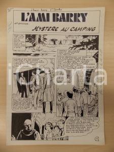 1981 AMI BARRY Ep.4 Luciano BERNASCONI Monaco nei sotterranei *Tavola originale