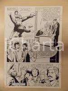 1981 AMI BARRY Ep.5 Luciano BERNASCONI Calcio a un criminale *Tavola originale